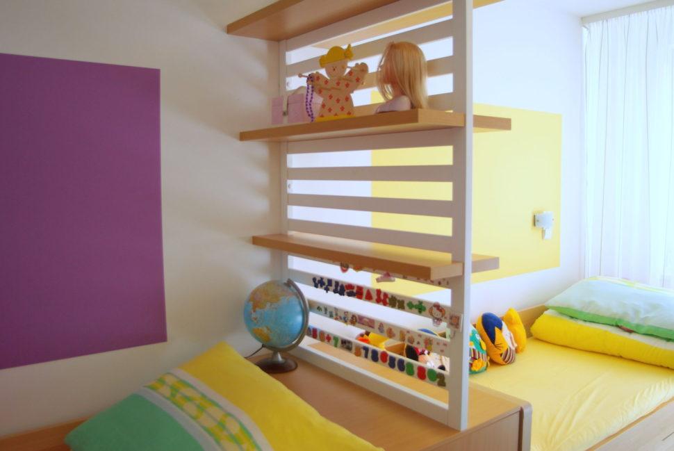 dětský pokoj pro holčičky