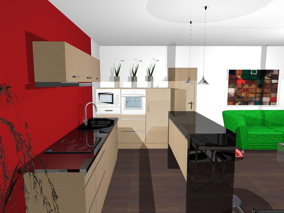 kuchyně černý lesk